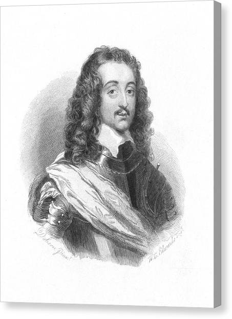 Althea Canvas Print - Richard Lovelace (1618-1657), English by Mary Evans Picture Library