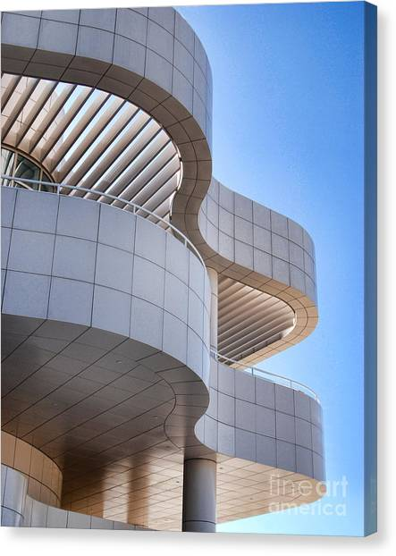 Richard Meier's Getty Architecture I Canvas Print