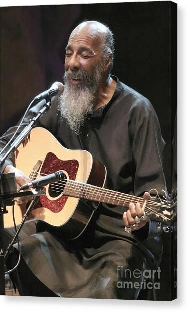 Folk Singer Canvas Print - Richie Havens by Concert Photos
