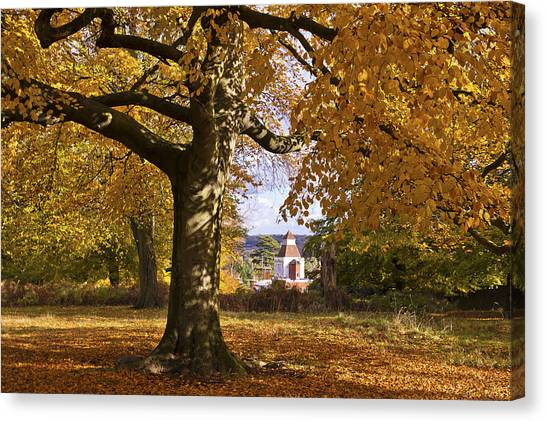 Richmond Autumn Canvas Print