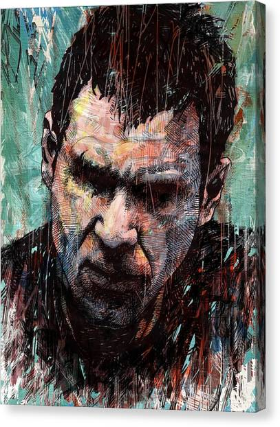 Bladerunner Canvas Print - Rick Deckard by Tom Deacon