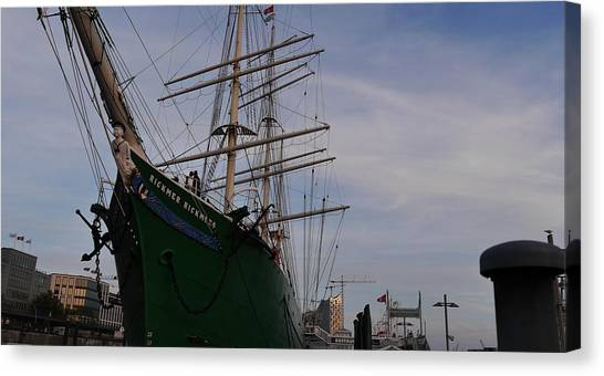 Rickmer Rickmers Canvas Print by Peter Norden