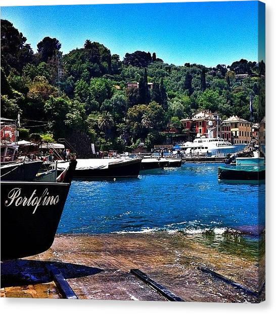 Landscape_lover Canvas Print - Ricordi Estivi... #portofino #barche by Flavio De Petri