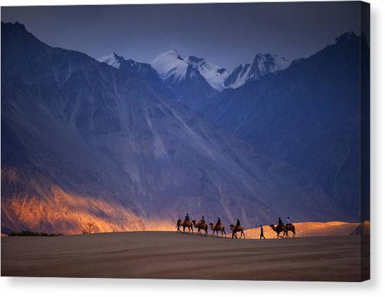 Ride Of The Dream Canvas Print by copyright @ Sopon Chienwittayakun