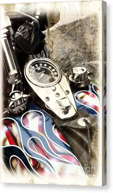 Ride With Pride Canvas Print