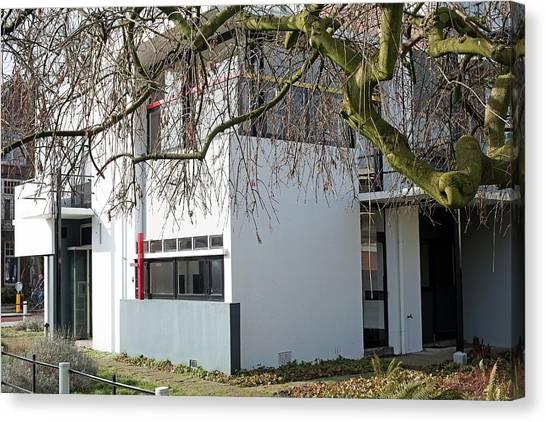 De Stijl Canvas Print - Rietveld Schroder House Utrecht I by Dirk Wiersma