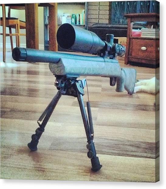 Vipers Canvas Print - #rifle #vortex #viper #remington by . .