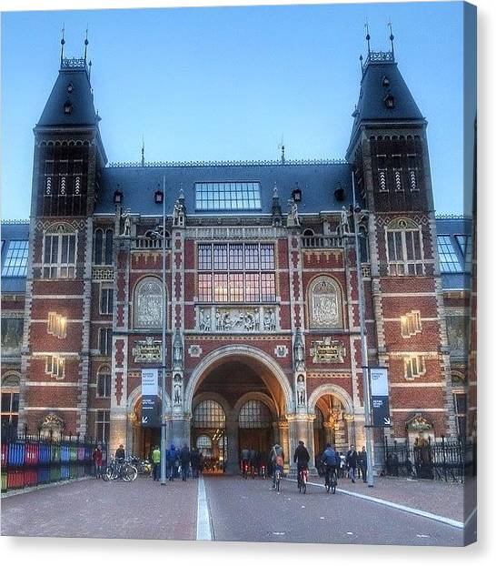 Rijksmuseum Canvas Print - Rijksmuseum Amsterdam ... One Of The by Maritha Graph