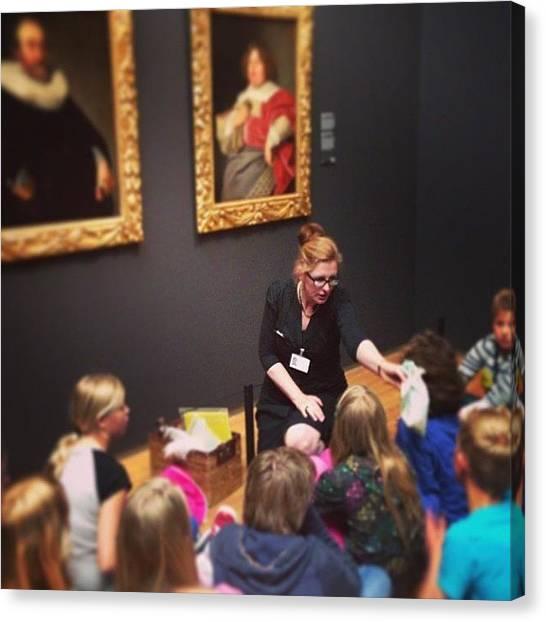 Rijksmuseum Canvas Print - #rijksmuseum #art #learning #legacy by Valentin Vesa