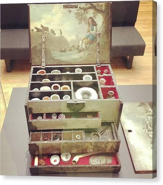 Rijksmuseum Canvas Print - #rijksmuseum Artist's Paint Box by Valentin Vesa