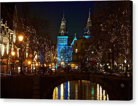 Rijksmuseum At Night Canvas Print