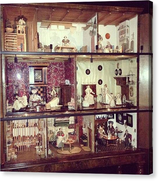 Rijksmuseum Canvas Print - #rijksmuseum Doll's House Of by Valentin Vesa