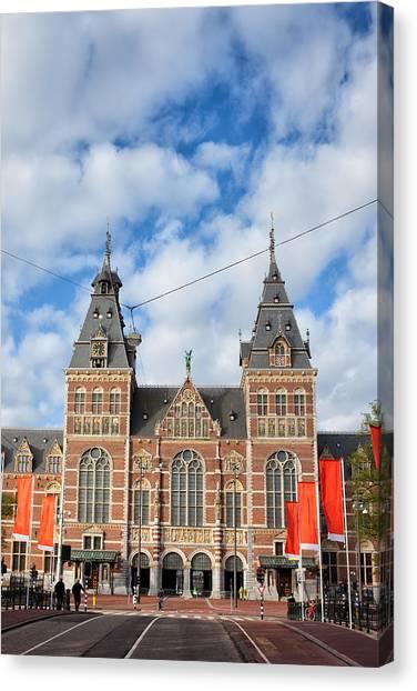 Rijksmuseum Canvas Print - Rijksmuseum In Amsterdam by Artur Bogacki