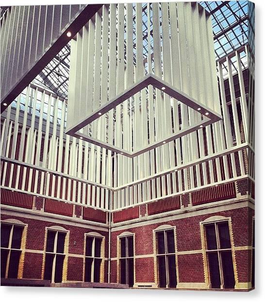 Rijksmuseum Canvas Print - #rijksmuseum #museum #renovated by Ksenia Repina