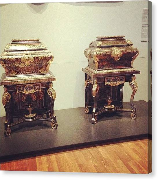 Rijksmuseum Canvas Print - #rijksmuseum Two Toilet Caskets by Valentin Vesa