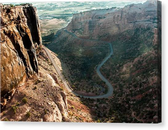 Rim Rock Drive Canvas Print