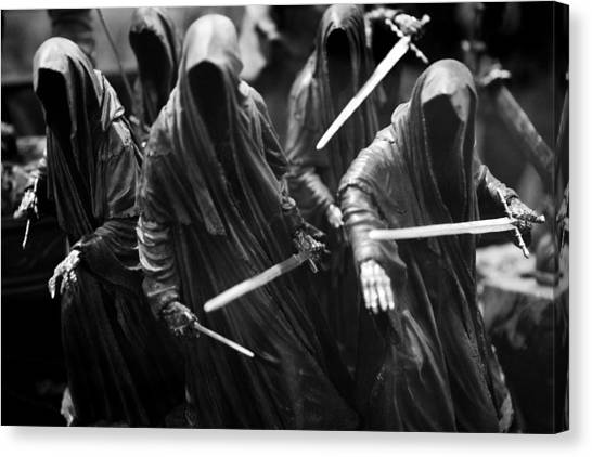 Ring-wraiths Canvas Print