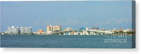Ringling Bridge Canvas Print