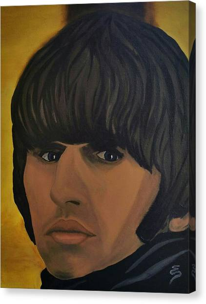 Ringo Star  Beatles For Sale Canvas Print