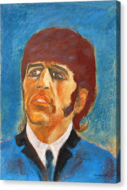 Ringo Canvas Print by Tom Conway