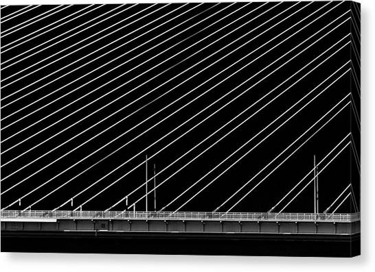 Engineering Canvas Print - Rio Bridge by Gianni Giatilis