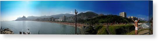 South America Canvas Print - Rio De Janeiro by Nicklas Gustafsson