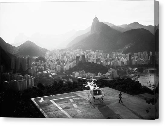 Choppers Canvas Print - Rio by Marco Virgone