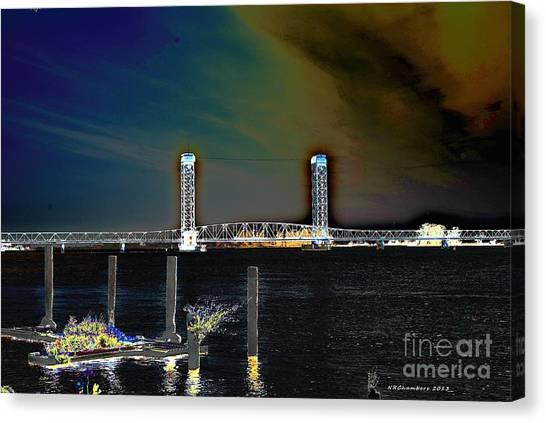 Rio Vista Bridge Canvas Print