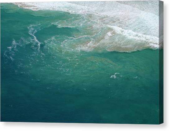 Running Backs Canvas Print - Rip Current by Peter Chadwick/science Photo Library