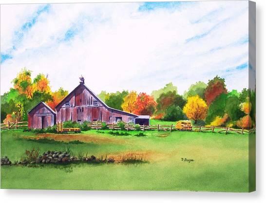 Rip Manning's Barn Canvas Print
