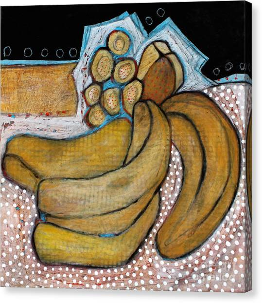 Ripe Bananas Canvas Print