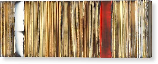 Expressionism Canvas Print - Ripple 1 by Brian Allan