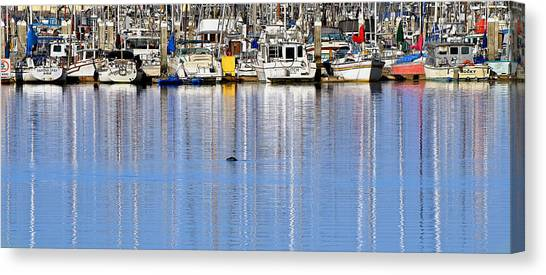 Ripple And Churn Canvas Print