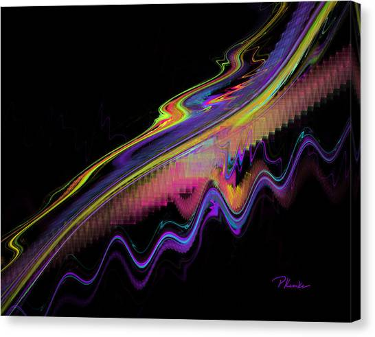 Ripple In Time Canvas Print