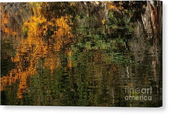 Ripples And Reflections Canvas Print