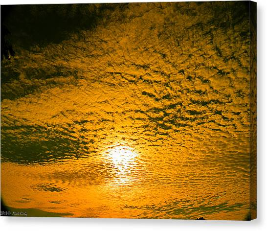 Ripples In The Sky Canvas Print