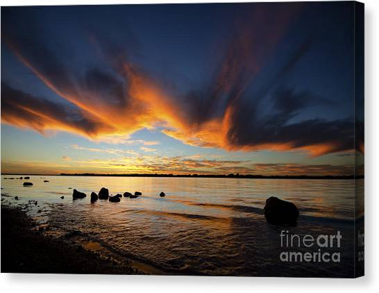 Ripples In Time Canvas Print