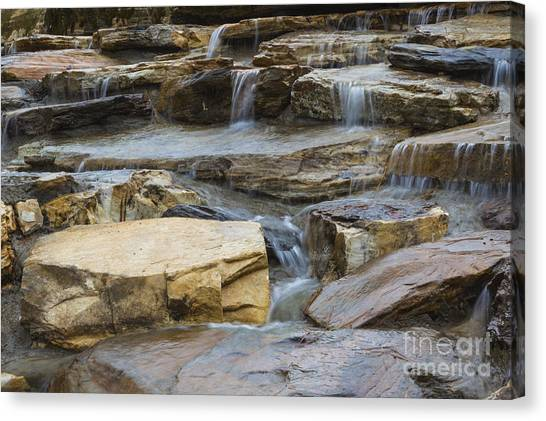 Ripples Of Water Canvas Print