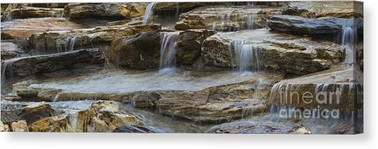 Ripples Of Water Panoramic Canvas Print