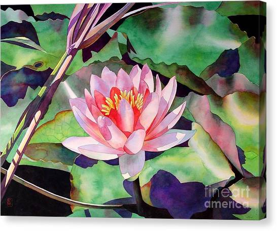 Waterlily Canvas Print - Rise And Shine by Robert Hooper