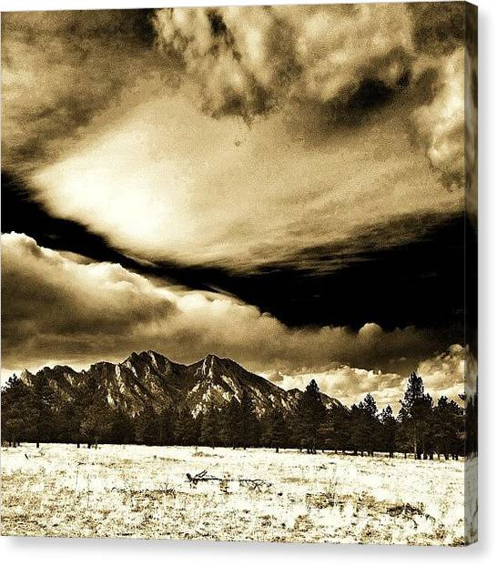 Rocky Mountains Canvas Print - Rise Of The Rockies by Jonathan Joslyn