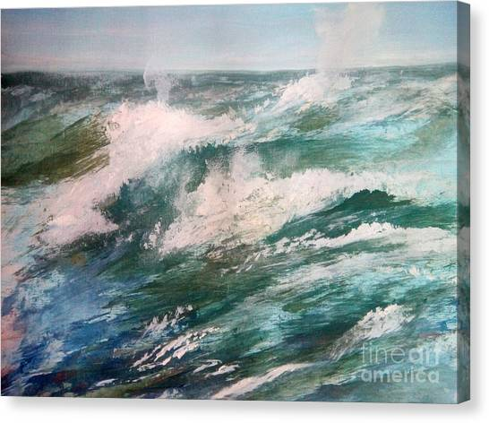 Rising Spume Canvas Print