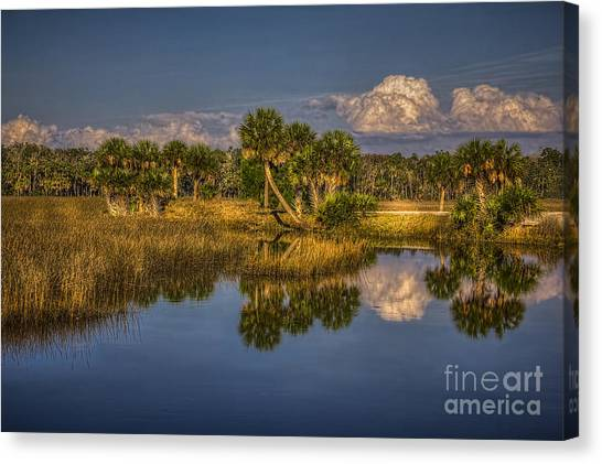Low Tide Canvas Print - Rising Tide by Marvin Spates