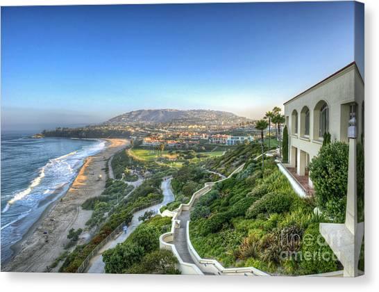 Ritz-carlton Laguna Niguel Ocean View Canvas Print