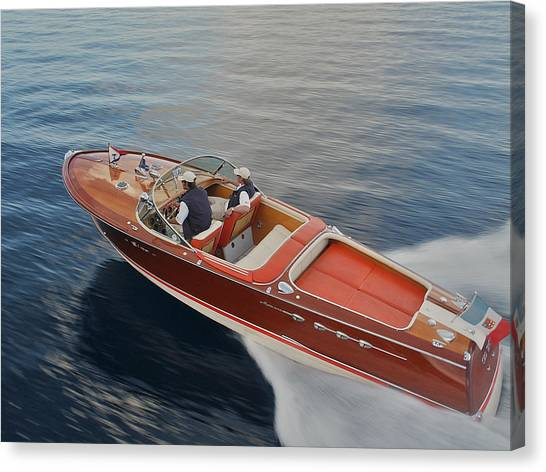 Riva Aquarama Canvas Print