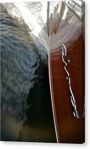Riva Wake Special Prices Canvas Print