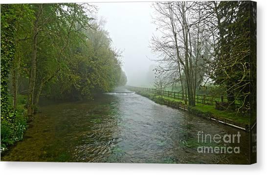 River Anton Canvas Print