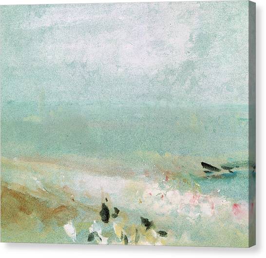 Abstract Canvas Print - River Bank by Joseph Mallord William Turner