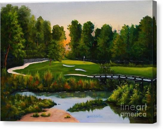 River Course #16 Canvas Print