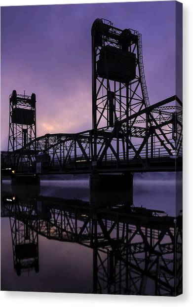 River Crossing No. 2 Canvas Print
